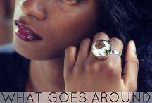Urban-chic adjustable Ring
