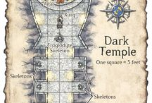 RPG Maps / Dungeons ideas