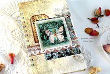 Albums,  notepads, PL & diaries. Альбомы, блокноты, дневники, папки и обложки для документов / Все самое необходимое для планирования, записей и хранения воспоминаний, фотографий и документов. Сделано с использованием продукции C.H.E.A.P.-Art