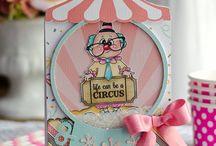 Kid handmade cards
