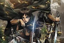 Attack on Titan - Shingeki no Kyojin / This is my favourite anime!!! *---* I love it so much!  Wings of Freedom!