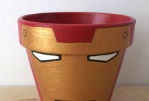 Marvel themed diy & crafts