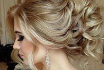 Düğün toplu saçlar