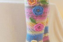 çiçekli çorap