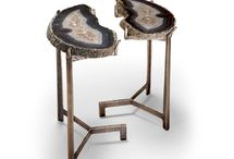 Geode and Crystal Furniture