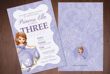 Sofia the First Birthday Designs / Sofia the First Birthday Designs  www.lmdesign.co www.facebook.com/lmdesignsc