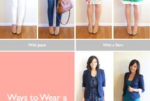 Blazer / Ways to wear blazer