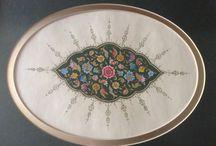 Tezhip ve minyatürlerim. My works. / Turkish Art - Tezhip ve minyatür.
