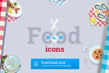 Cooking icons (2px) / Icons based on 128 x128 px size with 2 px strokes.