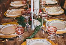 Table Setting / Gorgeous table settings for weddings and holidays