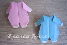 origami bébé