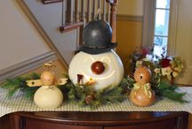Winter Decor with Meadowbrooke Gourds