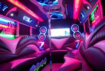 Party Buses with Stripper Poles / by Party Bus Rental Headquarters