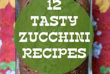 Eats zucchini