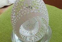 ażurowe pisanki / Ażurowe naturalne pisanki, koronkowe jajka, jak haft Richelieu