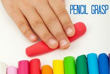 Ceruzafogás kialakítása