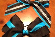 Cherish's cheer bows