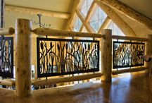 Stair Railings & Balcony Panels / A collection of our custom railing art and balcony panel designs