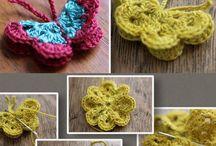 Crochet Butterflies & Bunnies