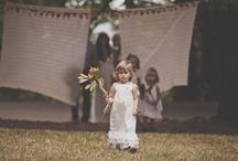 The Lil Ones / Ring Bearers and Flower Girl ideas.