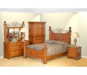 amish bedroom furniture / Amish Made #Bedroom Furniture and decor ideas