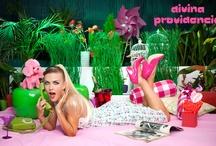 Sugar Baby Spring Summer 2012 / Tablero con imágenes de la colección Primavera Verano 2012 de la marca de moda española Divina Providencia