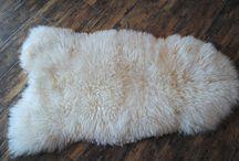 skóry/lammfell, sheepskin