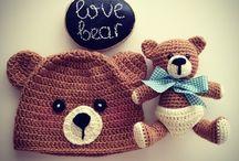Crochet Novelty Hats - all sizes