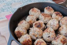 Food- Meatball Mondays / Recipes to be used on Monday nights at our house...