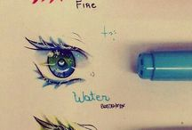 Dessin yeux