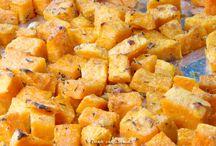 Bijgerechten / Zoete aardappelen uit de oven