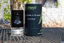 Atman Hummer E-grinder / The Atman Hummer is Atman new design electronic grinder for dry herb, the first E-Grinder in the world, automatically. Powered by 2 piece 18650 batteries,provided enough power to grind.