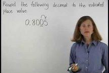 Maths: Fractions, Decimals, Percentages