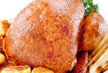 Christmas meals / Turkey, pork and menus
