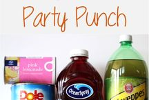 PARTY FOODS & BEVERAGES