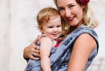 Fidella baby wrap -Cupcake Kiss blueberry- Inspirations