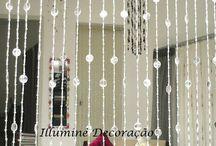 cortina de cristais