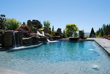 Water Features / Pools+Ponds+Water Falls / by All Oregon Landscaping Inc