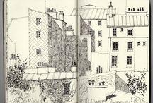 Plein Air / urban sketches