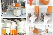 Moodboard - Inspiration / Quelle couleur pour votre bureau ? - What color for your office ?