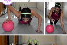 piłka lekarska - medicine ball
