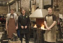 Welding, Fabrication and Blacksmithing / Images from the Forge and our Welding, Fabrication and Blacksmithing students at Kingston Maurward College.