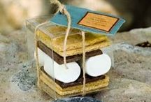 Weddings - favors/welcome boxes / by Leona Morelock Designs