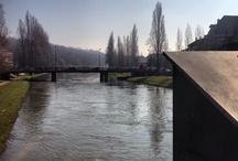 Melun / Melun, préfecture de Seine-et-Marne (77), la Seine traverse la commune.