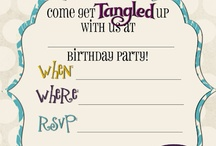 Tangled Bday party / by Trisha Cannon