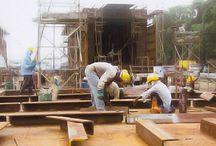 Construction/Fabrication / Ship Hull I Topside I Jacket I Jack-up Rig I Ship repair & refurbishments I Temporary support I Sea-fastening I Visit us at http://www.lkl.com.my
