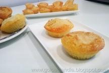 Muffins o Magdalenas caseras / Magdalenas caseras o muffins , receta casera paso a paso http://golosolandia.blogspot.com.es/2013/04/magdalenas-caseras-muffins-receta-casera-paso-a-paso.html