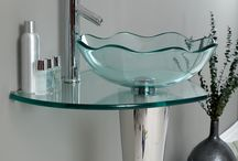 Glass Vessel Sinks / Try something different in your bathroom!