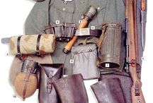 WWI, WWII, Korea, Vietnam and today's Uniforms / Military Uniforms / by Tom Oldham