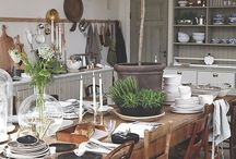 French country - dining
